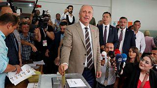 محرم اینجه، انتخابات پارلمانی و ریاستجمهوری ترکیه