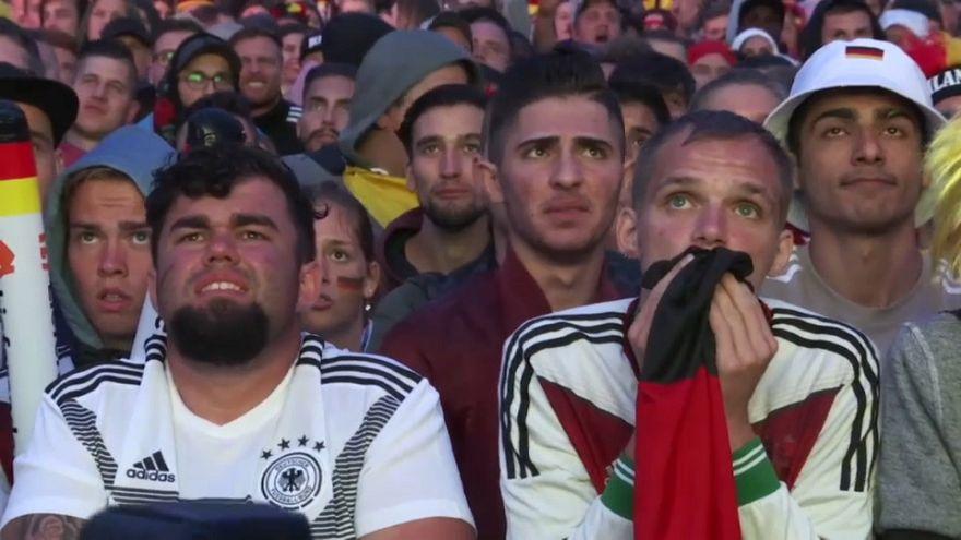 La afición alemana, de la agonía al éxtasis