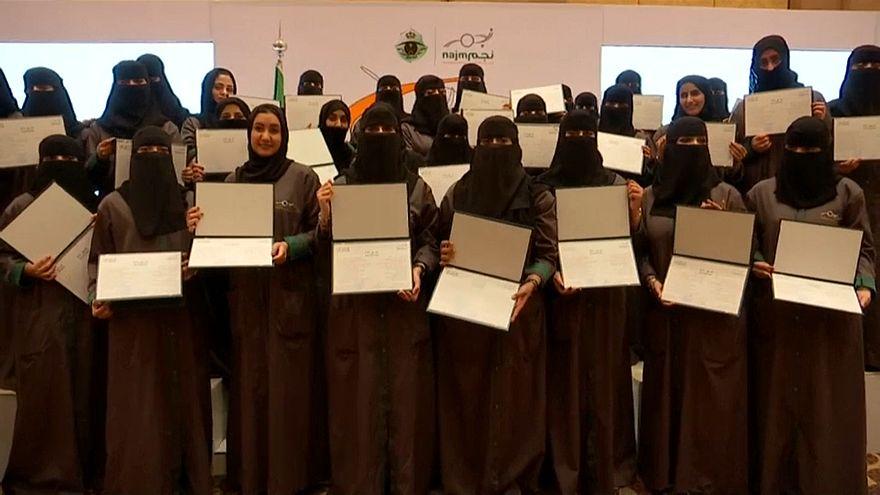 Mulheres já conduzem na Arábia Saudita