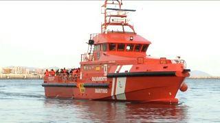 Cerca de 800 migrantes resgatados na costa espanhola