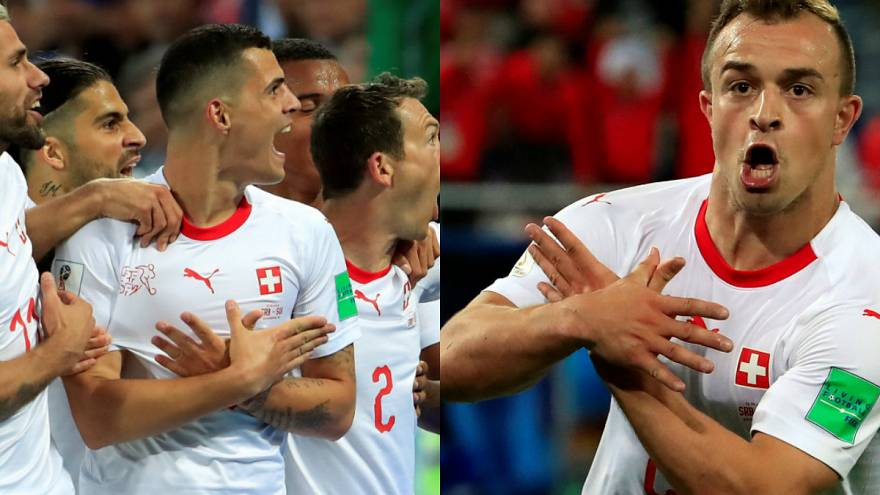 Torjubel-Ärger für Schweizer Nationalspieler Shaqiri und Xhaka