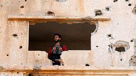 یک جنگجوی گروه «ارتش آزاد سوریه»