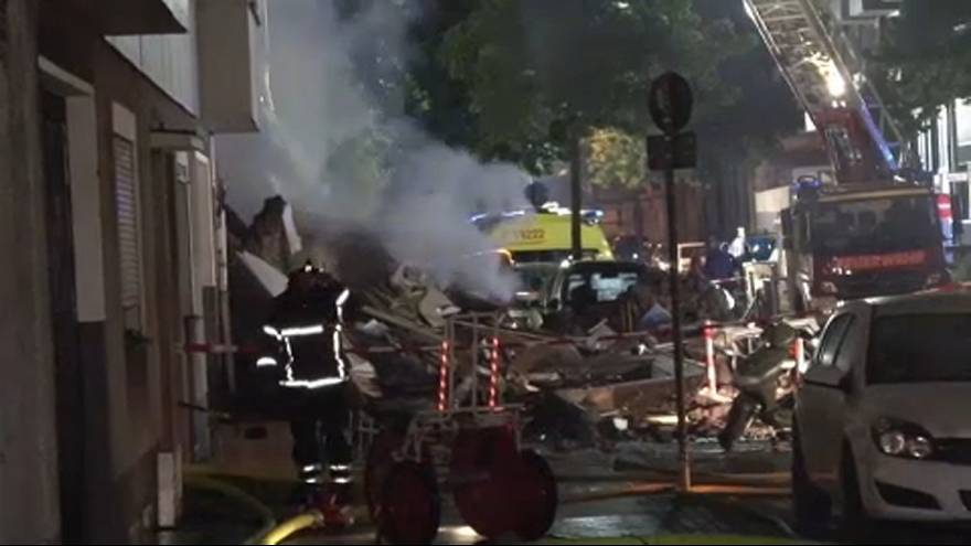 Egy lakás robbant fel Wuppertalban