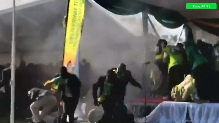 Zimbabwe, il presidente esce illeso da un attentato esplosivo