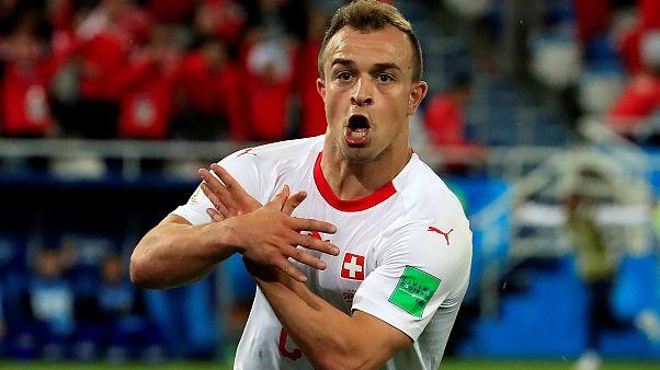 La Fifa engage une procédure disciplinaire contre deux joueurs suisses pour avoir célébré leurs buts par un geste politique