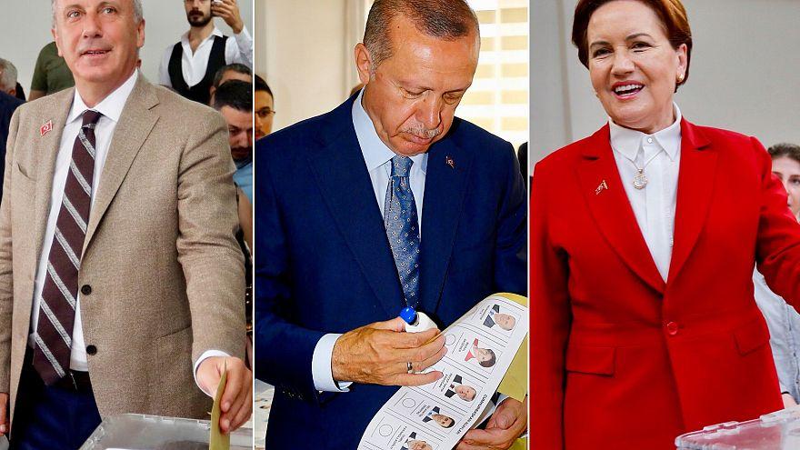Cumhurbaşkanı ve Milletvekili Genel Seçiminde liderler oylarını kullandı.