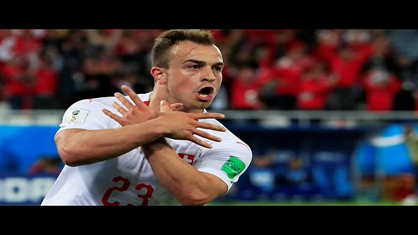 Goal celebration or political gesture? FIFA investigates
