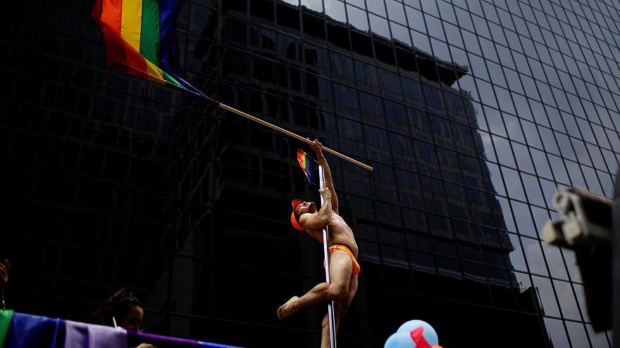 40. Gay-Pride in Mexiko-Stadt