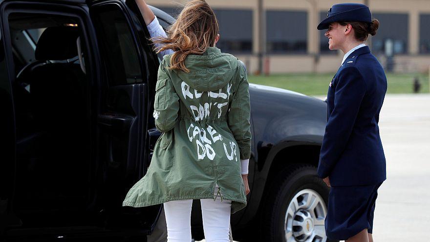 ميلانيا ترامب تخرج عن صمتها بعد فضيحة سترتها