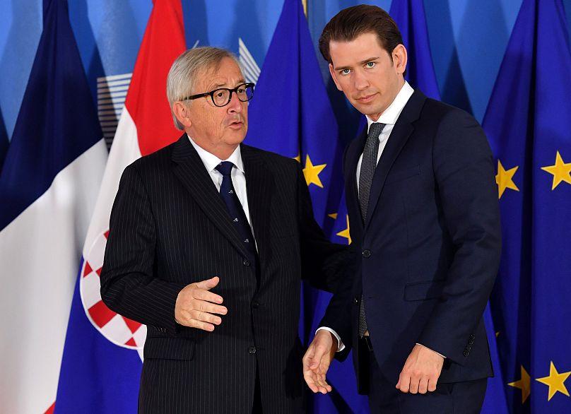 Líderes europeos participan en reunión informal sobre migración