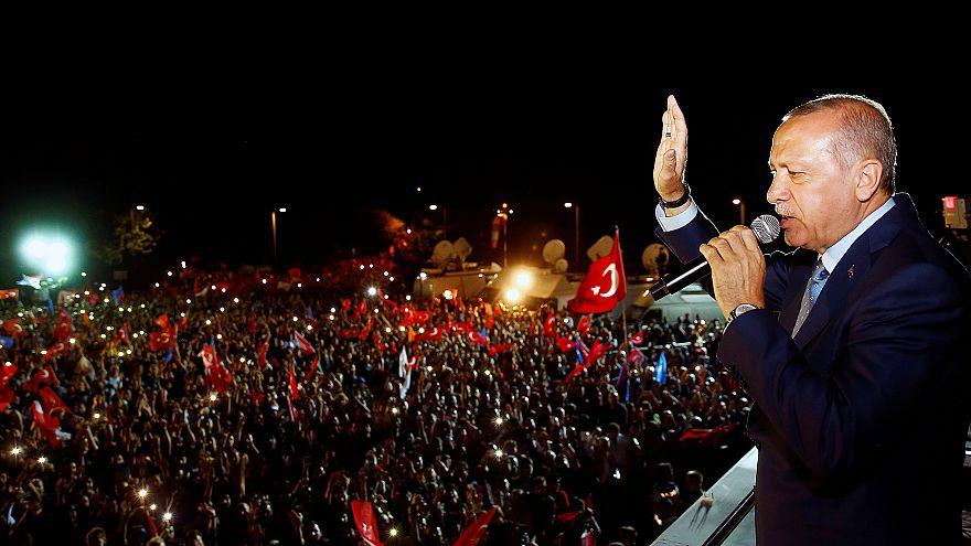 Erdogan declara-se vencedor das eleições na Turquia