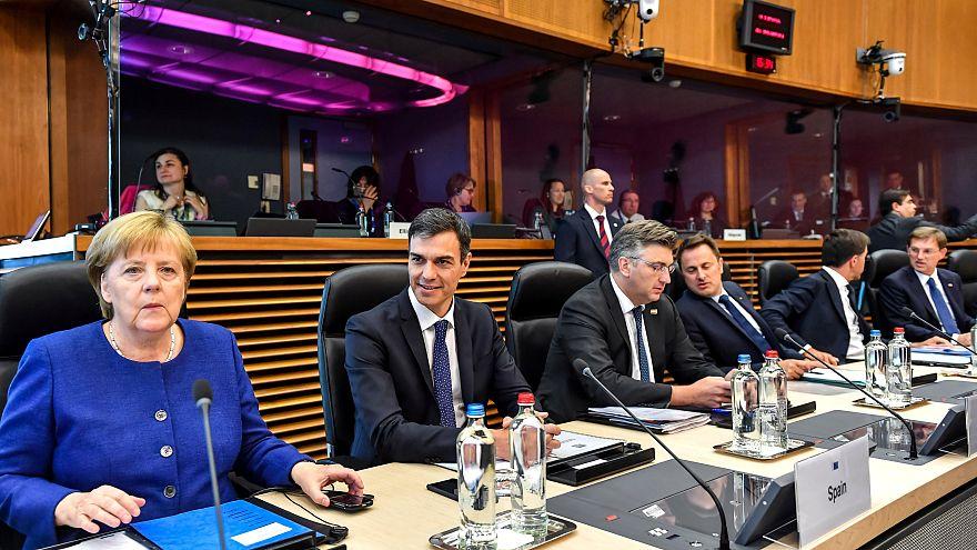 Krisengipfel in Brüssel: 16 EU-Staaten beraten über Asylpolitik