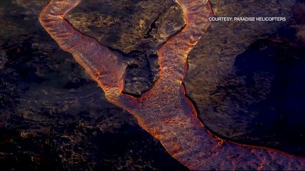 Hawaii, erutta ancora il vulcano Kilauea