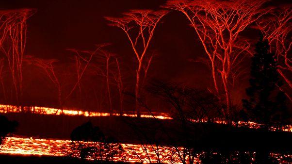 Steter Lavastrom vom Kilauea