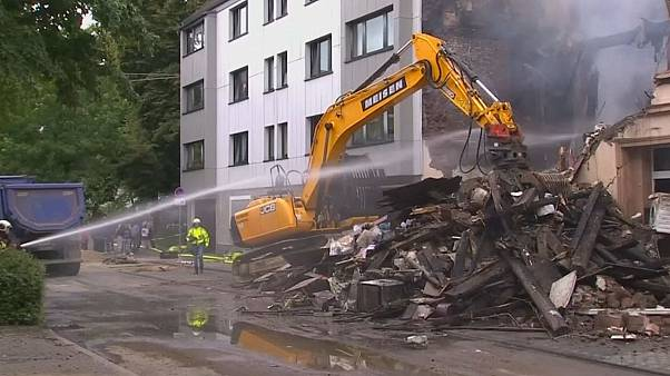 Explosion devastates apartment building in Germany