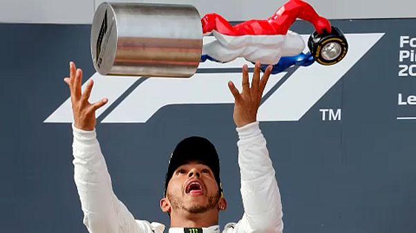 F1: Hamiltoné a Francia Nagydíj