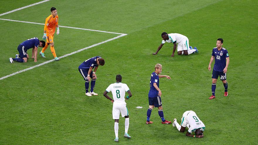 Döntetlent játszott Japán és Szenegál