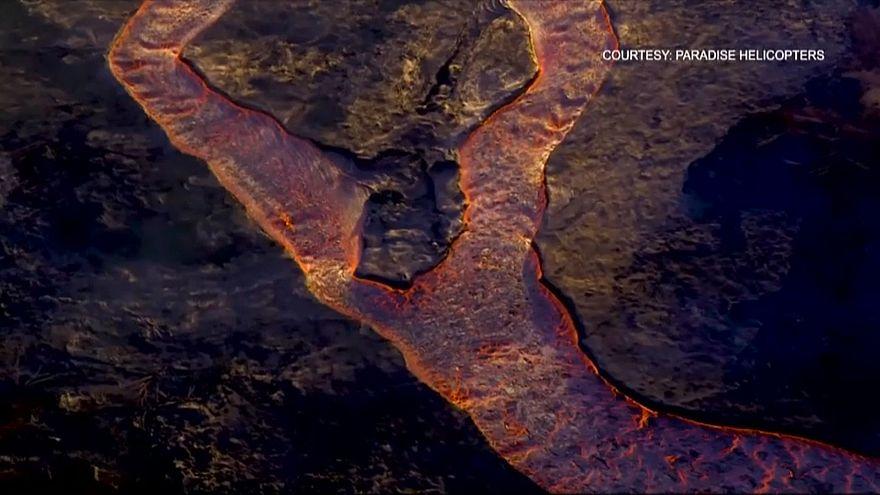 Le Kilauea toujours en éruption