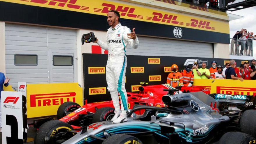 Doble éxito de Lewis Hamilton en el Gran Premio de Francia de Fórmula Uno