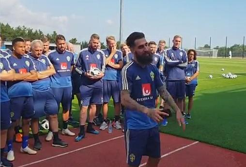 Watch: Swedish World Cup team say 'f**k racism' after Durmaz abuse