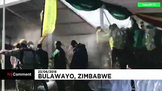 انفجار خلال حملة انتخابية بحضور رئيس زيمبابوي