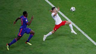 مونديال روسيا: فوز كولومبيا على بولندا بثلاثة أهداف نظيفة