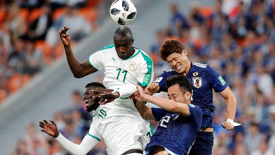 Japão e Senegal empatam 2-2
