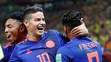 Mondiali 2018: Colombia-Polonia 3-0