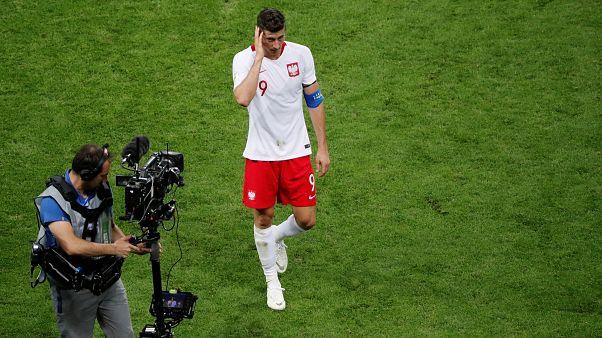 3:0 - Kolumbien schickt Polen nach Hause
