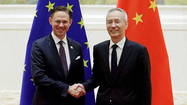 EC Vice President Katainen and Chinese Vice Premier Liu He