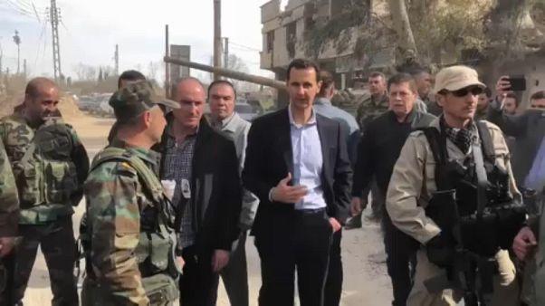 Presidente sírio Bashar al-Assad