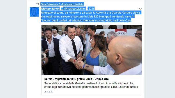 Missione di Salvini in Libia per potenziare l'accordo sui migranti