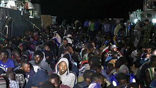 Libye : 820 migrants secourus en mer dimanche