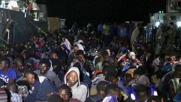 1.000 inmigrantes rescatados y devueltos a Libia