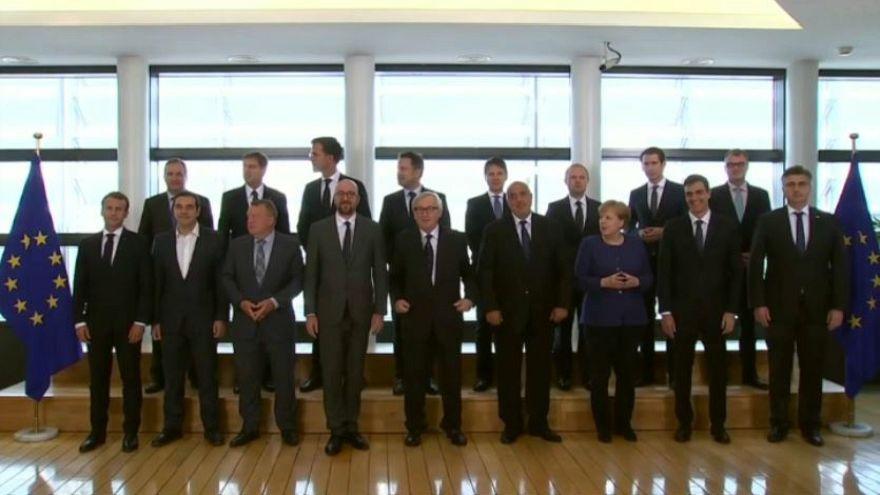 WATCH: EU Migration Summit - 16 leaders meet to seek solutions