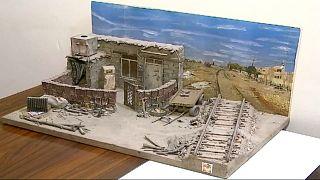 أحد أعمال الفنان العراقي حسن العبادي