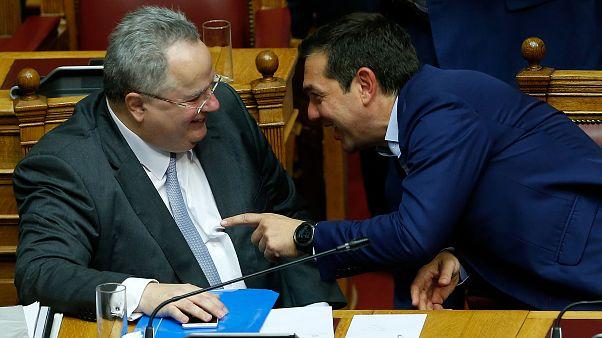 ΝΑΤΟ-Ε.Ε.: Ο Ν. Κοτζιάς παραδίδει τις επιστολές για την ΠΓΔΜ