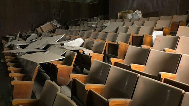 صورة لصالة عرض في ليبيا