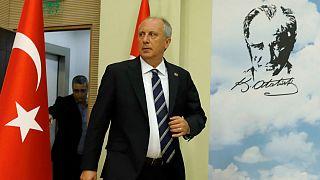 Muharrem Ince, presidential candidate