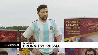Óriási Messi-torta, 31 éves a sztár