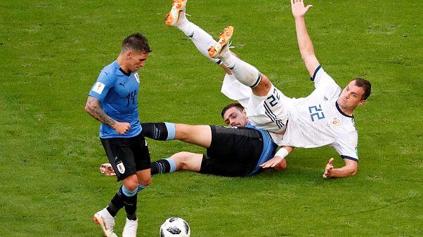 Уругвай - Россия - 3:0