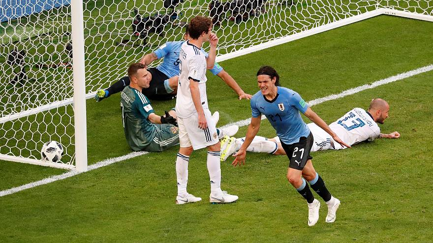 Dünya Kupası: Rusya'yı 3-0 ile geçen Uruguay grup lideri
