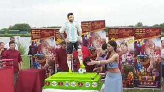 O bolo de aniversário de Messi