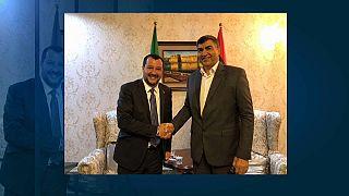 Visite-éclair de Salvini en Libye sur la question des migrants