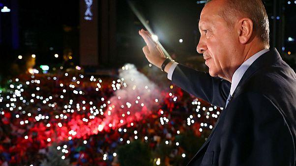 EU: hűvös fogadtatás Erdogan győzelmének