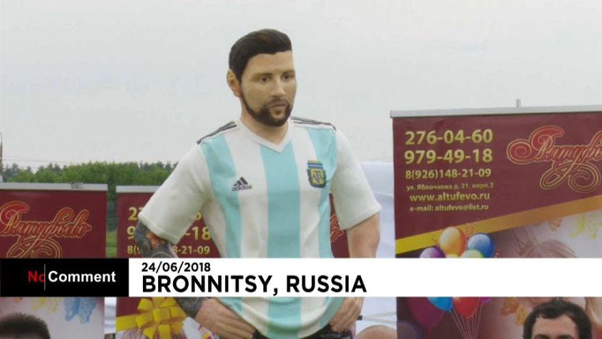 Foot : un gâteau Messi pour ses 31 ans