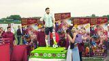 روسها تولد مسی را با کیک غولپیکر کاپیتان آرژانتین جشن گرفتند