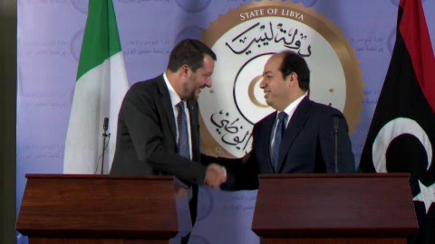 Líbia déli külső határain állítanák meg a menekülőket