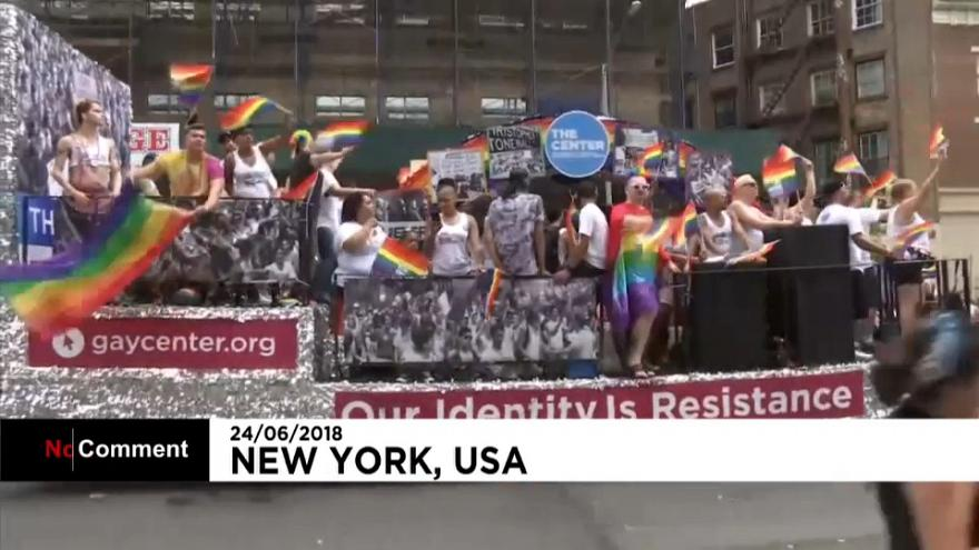 La gay pride, de New-York à San Francisco