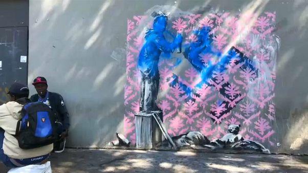 Des œuvres de Banksy vandalisées à Paris